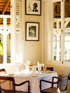 Be great for my breakfast nook overlooking our porch. [Strawberry Hill Hotel & Spa, Jamaica]