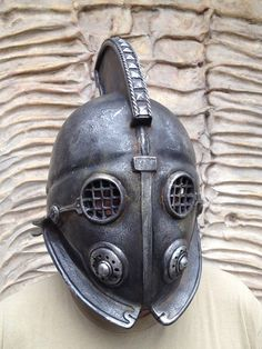 Steampunk Mask Gladiator Helmet Post Apocalyptic Secutor