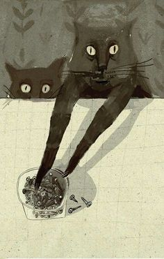 Illustration by Alisa Yufa (Russian, b. 1987) http://cs621926.vk.me/v621926654/2c8c3/k2_At8B0N3g.jpg