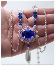 Medieval Necklace  Renaissance Jewelry  by TreasuresForAQueen, $39.00