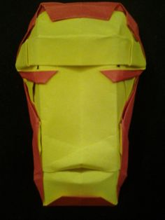 Origami Ironman Mask