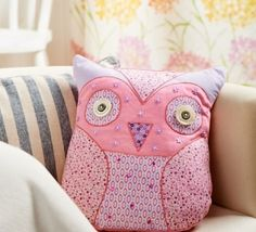 Owl Cushion Pattern & Applique