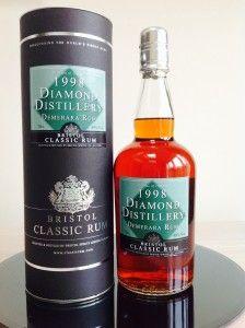 Bristol Classic Rum Diamond Distiilery 1998 rum review by the fat rum pirate