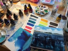 Experimenting with Acrylic inks. Hobbies For Women, Hobbies To Try, Art Tutor, Liquitex, Good Tutorials, Alcohol Ink Art, Pour Painting, Diy Supplies, Painting Lessons