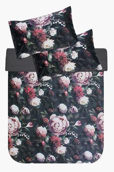 Printed Floral Velvet Duvet Cover Set - Shop New In - Bed & Bath - Velvet Duvet, Bedroom Size, Great Lengths, Bedding Shop, Scatter Cushions, Duvet Cover Sets, Perfect Fit, Pillow Cases, Bath