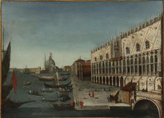View of Venice, depicting St. Marks and the Doge's Palace by Giovanni Richter