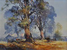 darcy doyle Australian Painting, Australian Artists, Australian Bush, Paint Brushes, Art Lessons, Landscape Paintings, Cool Art, Abstract Art, Cute Animals