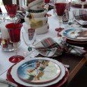 Burslem Red Turkey Plates by Enoch Woods – Entertablement