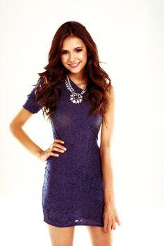 Nina Dobrev from The Vampire Diaries, Elena Gilbert <3