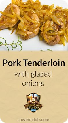 This #recipe is best paired with #PInotNoir. #wine #redwine #pork #cwc #cawineclub