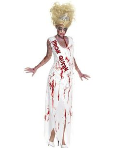 Women Prom Queen Role Play Long Dress Carnival Zombie Scary Costume Mummy Fantasia Vampire Halloween Clothes Cosplay