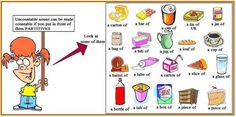 food containers partitives english - Google Search