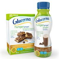 $1.25 off when you buy Glucerna® Multi-Pack Bars or Shakes
