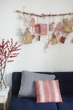 la petite cuisine: first weekend of Advent and crass cake disasters Nordic Christmas, Christmas Mood, Great Christmas Gifts, All Things Christmas, Christmas Crafts, Christmas Ornaments, Homemade Advent Calendars, Diy Advent Calendar, Calendar Ideas