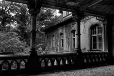 Balcony - Photo of the Abandoned Beelitz Heilstätten