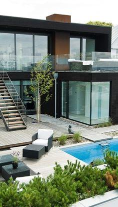 House With Minimalist Interior Design, Sweden