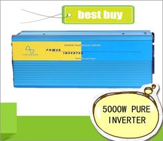 568.00$  Buy now - http://alieqy.shopchina.info/1/go.php?t=32574321537 - Doubel Digital Display 5000W peak 5000W Pure Sine Wave Power Inverter 24V DC to 220V 230V  Off Grid Power Converter Solar System  #aliexpressideas