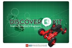 An engineer and educator joined forces to design the Discover E! Kit to inspire future engineers.  Intended for afterschool programs, the self-directed lab has students building and operating a trebuchet, racing carts using a cart launcher and lifting objects with a crane in three of the 12 step-by-step building instructions. http://www.edventures.com/products/by-product/discover-e/discover-engineering-kit.html