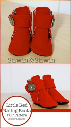 55+ DIY Baby Shoes with Free Patterns and Tutorials - Page 3 of 6 - DIY & Crafts
