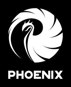 "Logo Design & Wallpaper for DJ & Producer ""Phoenix"" Phoenix Design, Designer Wallpaper, Rock Art, Painted Rocks, Ranger, Logo Design, Behance, Design Inspiration, Logos"