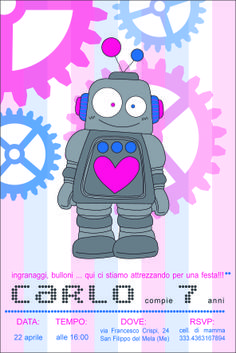 design small tema piccolo robot