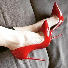 christian louboutin men s Red Pump Shoes, Red High Heels, Pumps Heels, Stiletto Heels, Women's Shoes, So Kate Louboutin, Red Louboutin, Christian Louboutin So Kate, Expensive Heels