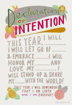 I think I'll do this when I make my New Year's resolution. The Words, Affirmations, When Youre Feeling Down, Now Quotes, Thing 1, Nouvel An, Happy New Year, Decir No, Encouragement
