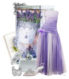 Lavender Blue, Dilly Dilly by elsiemarley22 on Polyvore featuring Bill Blass, René Caovilla, Serpui, Aurélie Bidermann, Chanel, Bling Jewelry, Suzanne Bettley and Tommy Mitchell