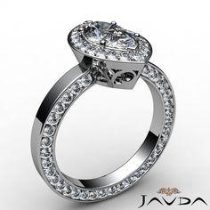 Beautiful Marquise Diamond Engagement GIA H VS2 Platinum Eternity Ring 2 5 Ct   eBay