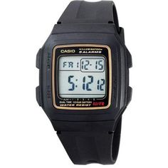 Casio Men's Multi-Function Alarm Sports Watch, Black