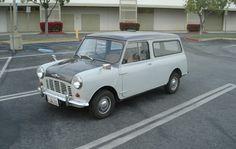 1962 Morris Mini Van