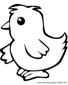 Baby Chick Printable Coloring Pages - Vosvete.net