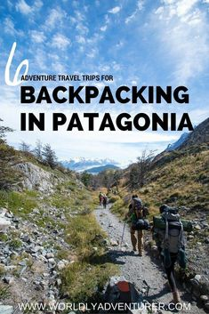 Looking to find adventure when backpacking in Patagonia? Find my tips for exploring one of South America's most incredible landscapes by foot, boat, and hitchhiking. This is everything you need to know before traveling in Patagonia. Patagonia Travel, In Patagonia, Thru Hiking, Camping And Hiking, Camping Tips, Backpacking Tips, Hiking Tips, Backpacking South America, South America Travel