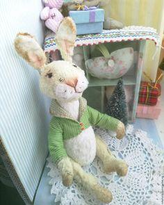 Купить Заяц Джек - зайчик, моя любимая игрушка, друг тедди, зайчик малыш