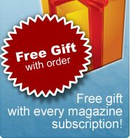 Cheap magazine subscriptions! Featured offers only $4.69 for one whole year!!!