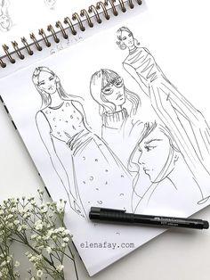 Fashion Illustration tutorials, how to create beautiful fashion illustration