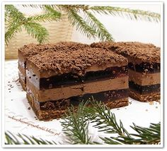 Nock (recipe by clicking on the picture) Chocolate Heaven, Tiramisu, Ale, Cooking Recipes, Cookies, Ethnic Recipes, Food, Sweets, Baking