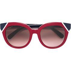 edb010f69422e Salvatore Ferragamo two tone cat eye sunglasses ❤. 🌼Elartes2 · Vitrine de  Moda (Acessórios) - Óculos de Sol