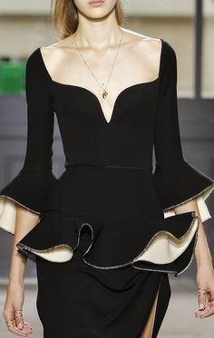 Balenciaga, Spring 2013. Seriously love love love did I say love yet ...love this!