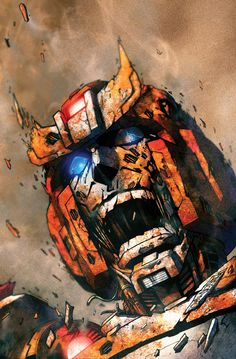 IDW Transformers: More Than Meet The Eye #5 / the cover to issue 5 of MTMTE /   this image has Ratchet coming apart from a deadly virus to transformers. it's very nasty.