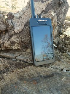 The DXB is the first ever docking device that turns your smart phone into a walkie-talkie (two-way radio). Nice little gadget to have if youre out of cell range. We can think of a several situations where this device would come in handy.