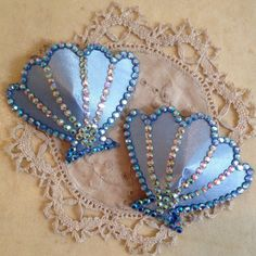 Shell Nipple Tassels by Talulahblueburlesque on Etsy, £12.99