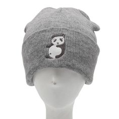 Beanies Women Beanie Knit Ski Cap Hip-Hop Winter Warm Wool Oc19