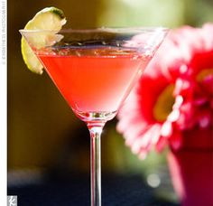 Cosmopolitan:  What You Need   2 oz. citrus vodka 1 oz. cranberry juice 1 oz. orange-flavored liqueur 3/4 oz. lime juice Lime wedge or orange peel, for garnish