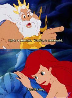 *KING TRITON & ARIEL ~ The Little Mermaid, 1989