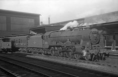Southbound Thames-Clyde Express at Carlisle in October 1959.