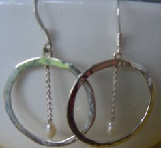 Handcrafted Artisan Sterling Silver Circles by MaroonedJewelry, $40.00
