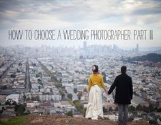 How To Choose a Wedding Photographer // #tips