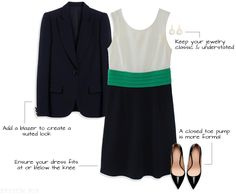 Get the Job: What to Wear for an Interview with a conservative dress code