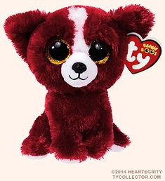 Tomate-Chihuahua-Ty Beanie Boos - The Effectiv. Tomate-Chihuahua-Ty Beanie Boos – The Effective Pictures We Off Ty Beanie Boos, Beanie Boo Dogs, Rare Beanie Babies, Ty Animals, Ty Stuffed Animals, Ty Peluche, Ty Toys, Cute Beanies, Big Eyes